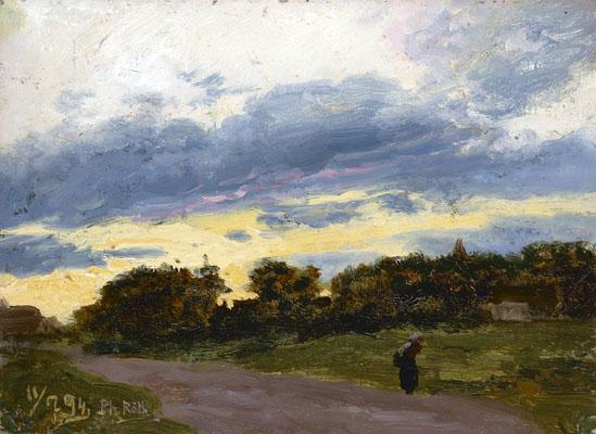 Philipp Röth (1841 – 1921). Ein Romantiker unter den Landschaftsmalern
